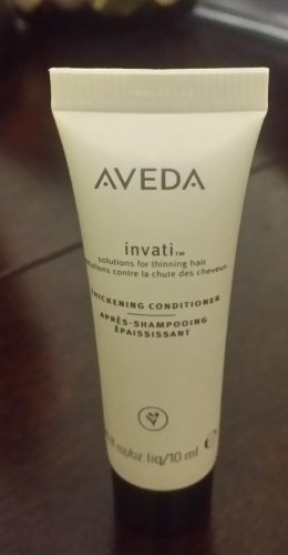 Aveda invati Thickening Conditioner - Deluxe size - 10 ml- BNNB