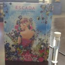 Escada Turquoise Summer edt -  2 ml SAMPLE - BN