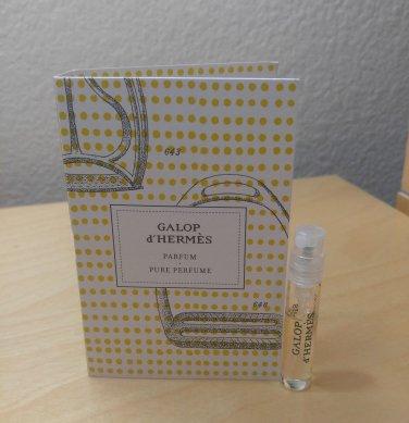 Hermes Galop d'Hermes Parfum - Pure Perfume  -  2.0 ml SAMPLE - BN