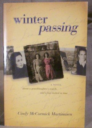 Winter Passing, Cindy McCormick Martinusen, HOLOCAUST,VG