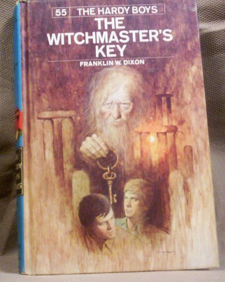#55 The Hardy Boys, The Witchmaster's Key by Franklin W. Dixon, 1976