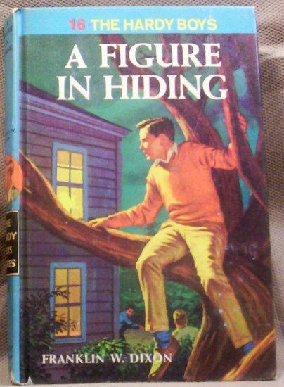 #16, The Hardy Boys, A Figure in Hiding by Franklin W. Dixon, 1965