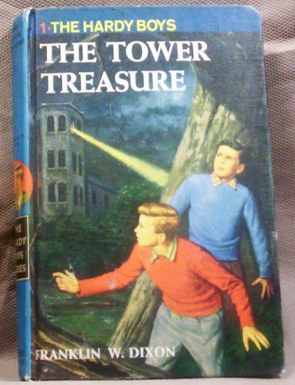 #1, The Hardy Boys, The Tower Treasure by Franklin W. Dixon, 1959