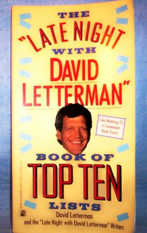 The Late Night With David Letterman Book of Top Ten ...