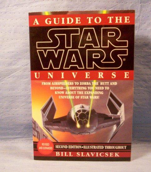 A Guide to the Star Wars Universe, Bill Slavicsek, FREE SHIPPING