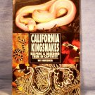 California Kingsnakes, Ray Hunziker, FREE SHIPPING