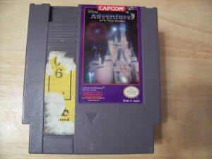 DISNEY ADVENTURES IN THE MAGIC KINGDOM (NES) TESTED