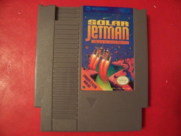SOLAR JETMAN (Nintendo) *TESTED* 8 BIT NES