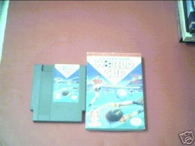 Nintendo World Cup (Nintendo) WITH BOX ONLY TESTED NES