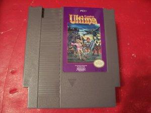 ULTIMA EXODUS BY FCI Nintendo TESTED 8 BIT NES