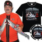 Humberto Brenes Poker Shark T-Shirt