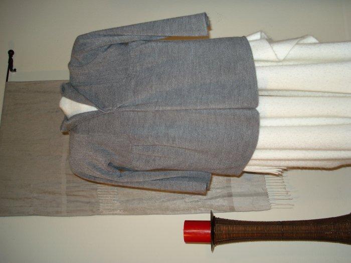 Acrylic Gray Sweater