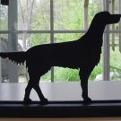 English Setter Dog Hand-cut Decorative Wood Silhouette