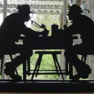 Drinking Buddies Hand-cut Decorative Wood Silhouette