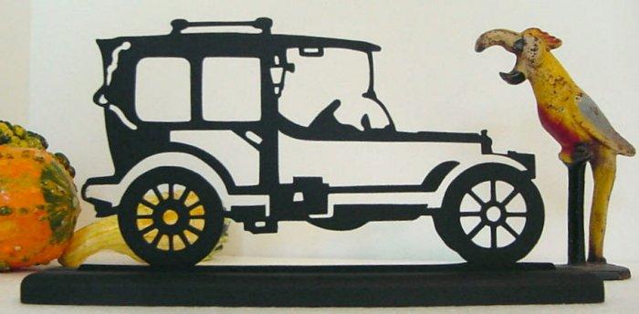 1910-20 Fiat Model 2 Decorative Wood Silhouette