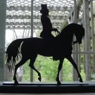 Riding in the Dressage Show Ring Decorative Wood Silhouette