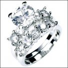 2.0 CT Platinum Rhodium Ring