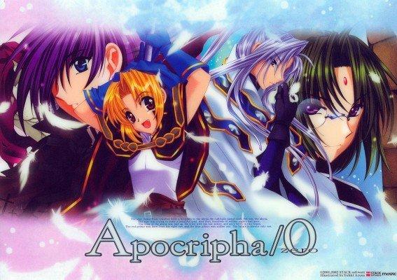 Apocripha O Zero Shitajiki Anime Game Pencil Board Movic 0302