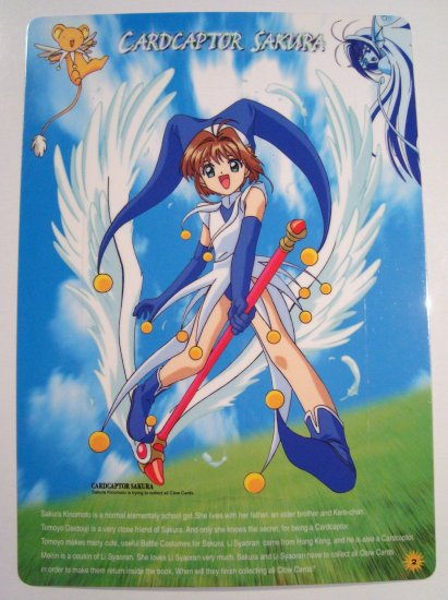 Card Captor Sakura Trading Post Card Postcard Shitajiki Pencil Board (2)