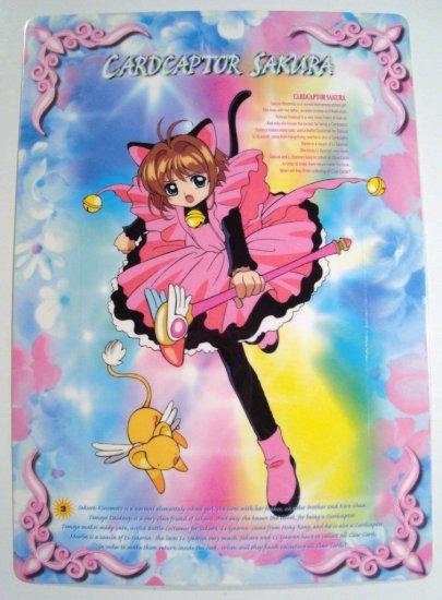 Card Captor Sakura Trading Post Card Postcard Shitajiki Pencil Board (3)