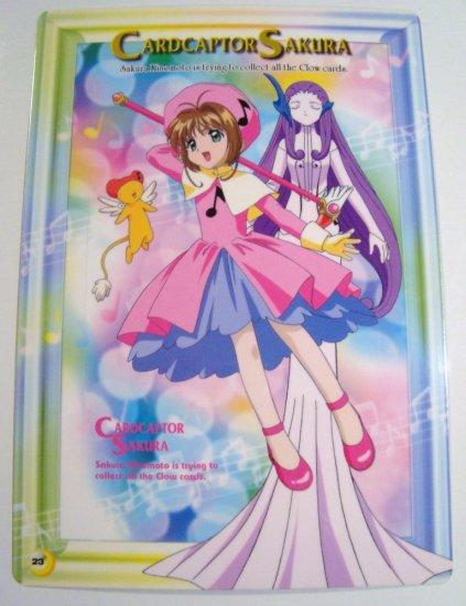 Card Captor Sakura Trading Post Card Postcard Shitajiki Pencil Board (23)