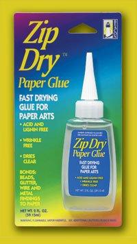 Zip Dry Paper Glue, 2 fl oz
