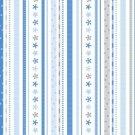 Doodlebug 12x12 Paper - Winter Ribbon Stripe