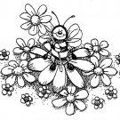 Peddler's Pack - Bee in Daisies