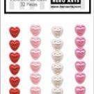 Hero Arts - Accent Pearls - Hearts