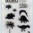 Boxer Scrapbook - Dino Stamp Set