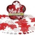 Petaloo - Dahlia Box Blend Sm - Red/White