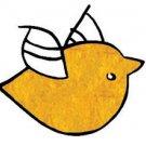 Stampendous - Fun Flock - Sunshiny Yellow, 0.25oz.
