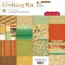 Cosmo Cricket 12x12 Paper Crafting Kit - Mr. Campy