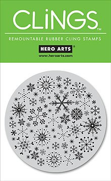 Hero Arts Clings - Snowflake Circle