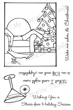 MFT Clear Stamps - Merry Christmas