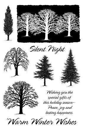 I/O Clear - Winter Trees