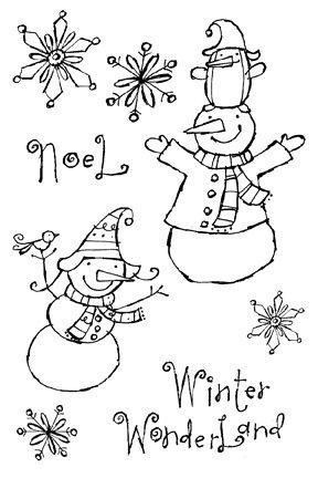 I/O Clear - Winter Wonderland