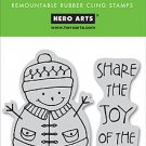 Hero Arts Clings - Share the Joy