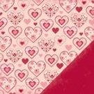 Making Memories 12x12 Paper - Pattern Hearts