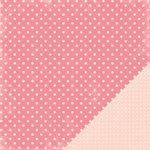 Making Memories 12x12 Paper - Pink Dots