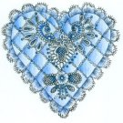 Lockhart Stamp Co - Lace Heart