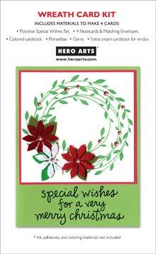 Hero Arts PolyClear - Wreath Card Kit