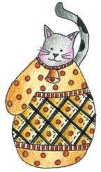 Lockhart Stamp Co - Mitten Kitten Dot