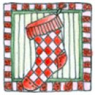 Lockhart Stamp Co - Itty Bitty Stocking