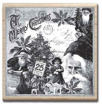 Hampton Art - Graphic 45 - Christmas Collage
