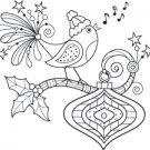 Outlines - Caroling Bird