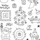 Hampton Art - Clear Stamps - Ellen Krans Santa's Workshop
