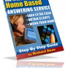 How to Start a Home Based Answering Service~eBook~