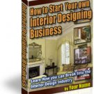 Interior Design Business~eBook~