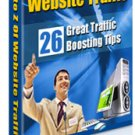 A to Z Website Traffic ebook with full resell rights